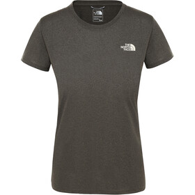 The North Face Reaxion Amp Cuello Barco Manga Corta Mujer, new taupe green heather